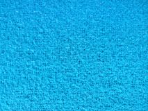 Light blue weave fabric texture, canvas background. Light blue weave woolen fabric texture, canvas background, top view royalty free stock image