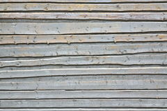 Light Blue Wood Wall Background From Unedged Overlapped Rough Bo Stock Photo