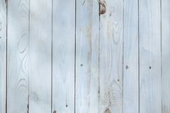 Light blue wooden background from painted boards royalty free stock images