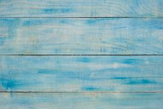 Light Blue wooden surface Stock Photography