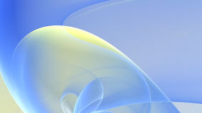 Light blue and yellow abstract background Stock Image