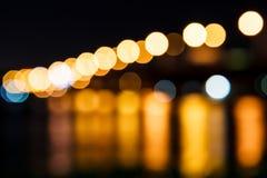 Light blur. Photos at night Stock Photo