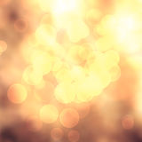 Light blurred golden background Royalty Free Stock Images