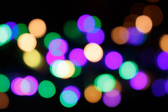 Light blurry colorful background Royalty Free Stock Photos