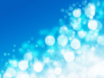 Light blurs blue abstract background Stock Image