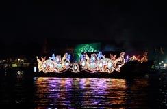 The light boat Royalty Free Stock Photos