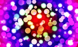Light Bokeh Abstract Royalty Free Stock Photography
