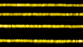 Light bokeh background. Yellow light bokeh background from camera Royalty Free Stock Images