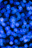 Light bokeh blue Royalty Free Stock Photo