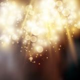 Light bokeh light background Royalty Free Stock Photography