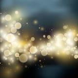Light bokeh light background Stock Photo