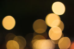 Light of Bokeh Royalty Free Stock Photography