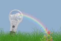 Light Bow Stock Photography