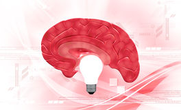 Light Of Brainstorm Stock Photos