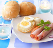 Light breakfast Stock Photography