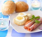 Light breakfast stock photography