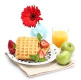 Light breakfast Royalty Free Stock Photography