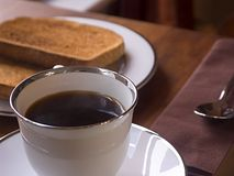 A Light Breakfast Stock Photo