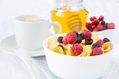 Light breakfast Royalty Free Stock Image