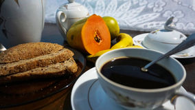 Light Breakfast stock images