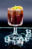Cocktail Fernet Branca Spritz royalty free stock photography