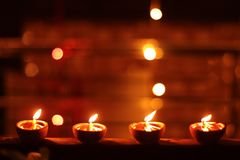 The light of the Brightest Festival Diwali royalty free stock photo