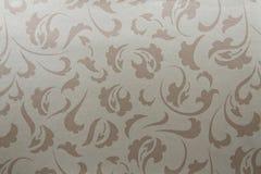 Artificial fabric texture Light brown Stock Photos