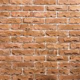 Light-brown brick background pattern Royalty Free Stock Images