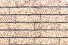 Light brown brick wall royalty free stock photos