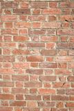 Light brown brick wall with mortar solid royalty free stock image