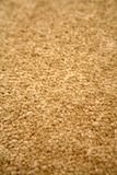 Light brown carpet. Closeup of light brown colored carpet royalty free stock images