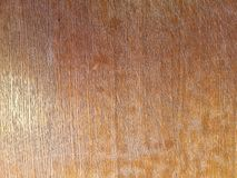 Light brown color background, texture, old wooden table royalty free stock photo