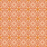 Light Brown Colors Round grid Pattern. Korean traditional Patter Stock Photography