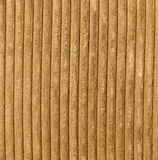 Corduroy Fabric Texture - Light Brown Stock Image