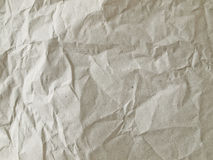 Light brown crumpled paper Stock Photos