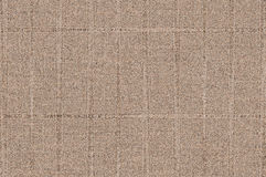 Light brown fabric Stock Image