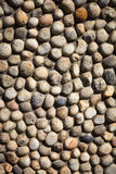 Light brown gravel texture for background Stock Image