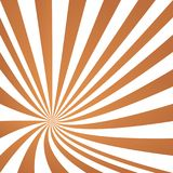 Light brown converging ray design. Light brown happy summer converging ray design Stock Images
