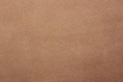 Light brown leather background Royalty Free Stock Photos