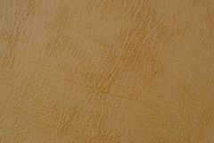 Light brown leather texture surface. Stock Photography