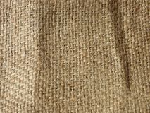 Light brown linen canvas texture material  background Stock Images
