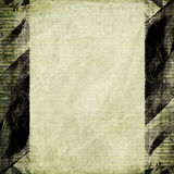 Light brown paper grunge black frame Royalty Free Stock Photo