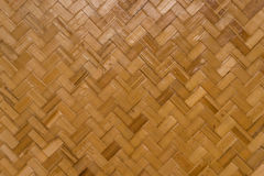 Light brown rattan weave pattern Stock Photography