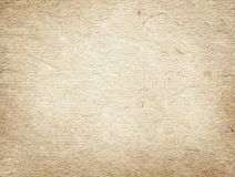Light brown recycled paper texture. Royalty Free Stock Images