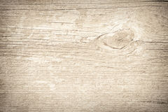 Light brown scratched wooden planks, wall, table, ceiling or floor surface. Royalty Free Stock Photo