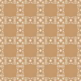 Light brown seamless pattern Royalty Free Stock Photo