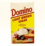 Light brown sugar Stock Images