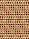 Light brown twisted long rhombus background Stock Photos