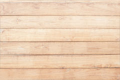 Light brown wood background. For your design Stock Photos