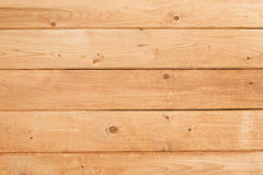 Light brown wood planks background texture Stock Image